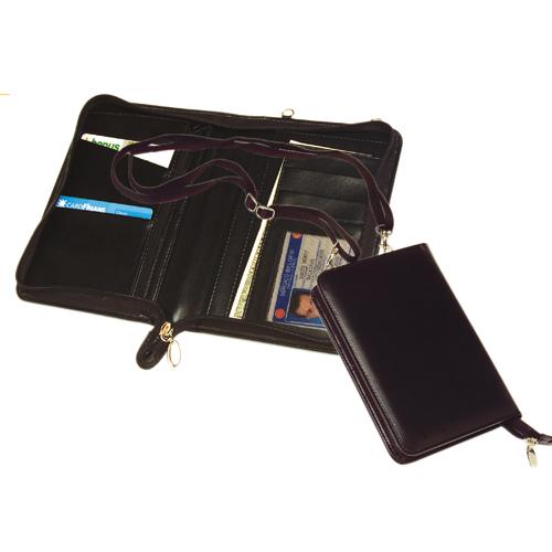 Letaher Portfolio & Passport Case