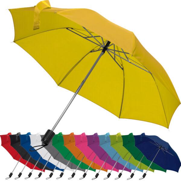 Telescope collapsible umbrella
