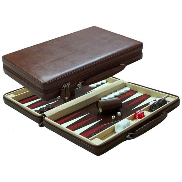 Leather Backgammon