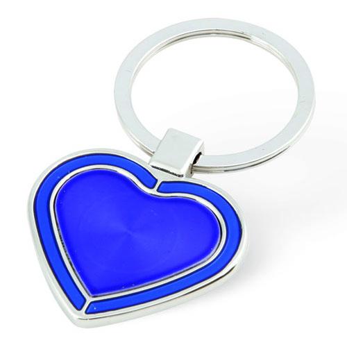 Heart Shape Metal Keychaın