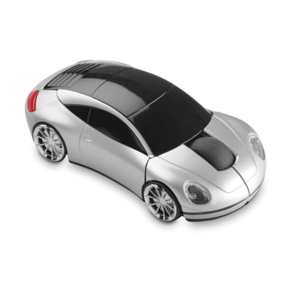 Wireless mouse in car shap