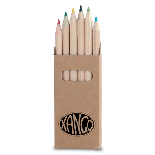 6 pcs colored pencil set