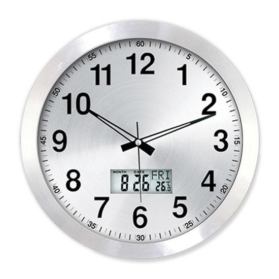 Alıminum Wall Clock