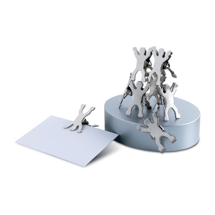 Metallic undermanned Note Holder