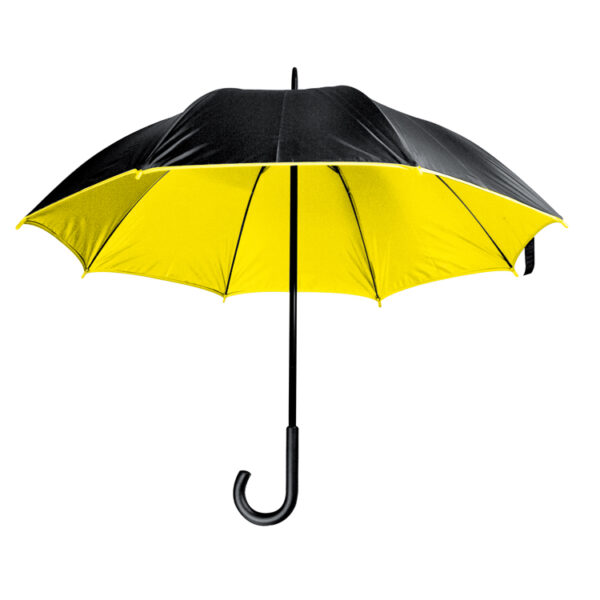 Luxurious umbrella with double nylon cover
