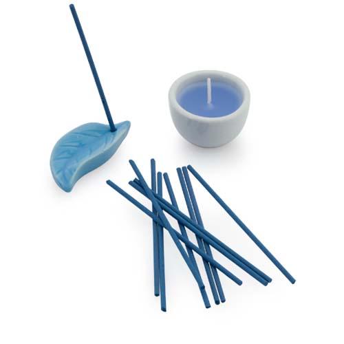 Inciense & Candle Set Nikel