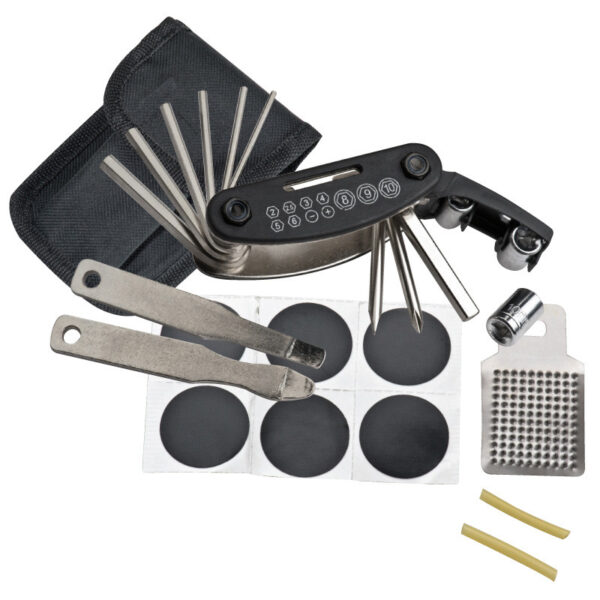 Bicycle repair kit, 17 pieces