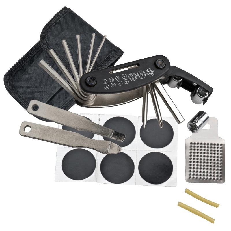 Bicycle repair kit, 17 pieces