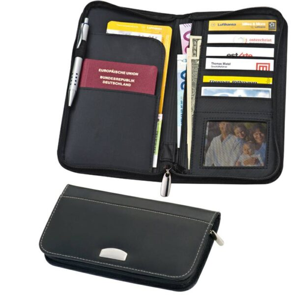 CrisMa leather travelwallet