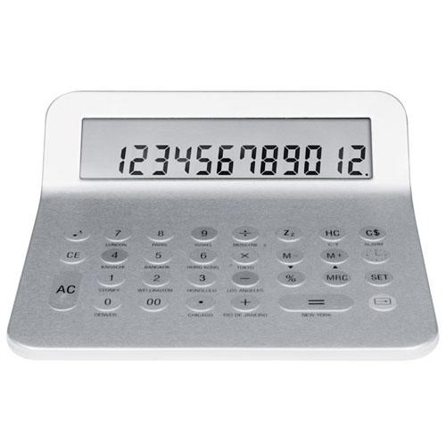 Calculator (Time & Temperature Display)