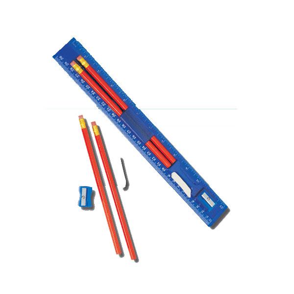 Ruller Pencil Set
