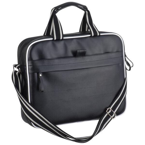 PU Laptop bag with hole pattern