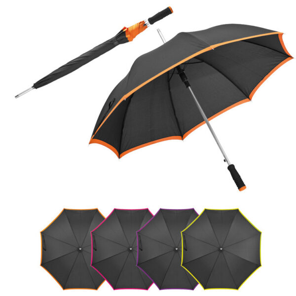 Umbrella made of pongee, automatic