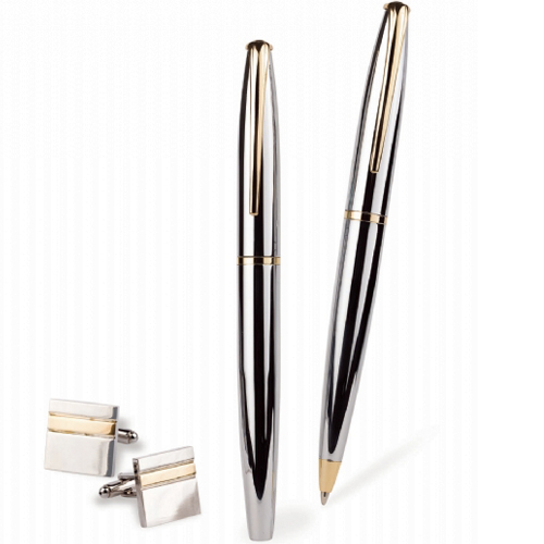 Pen & Cufflink Set