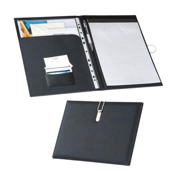 A4 canvas fibre folder