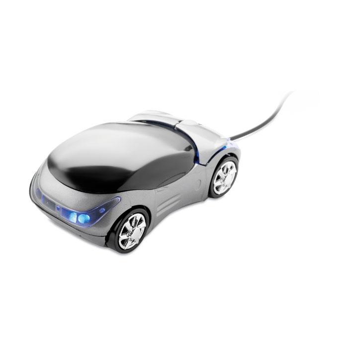 Optical mouse in stylish car shape