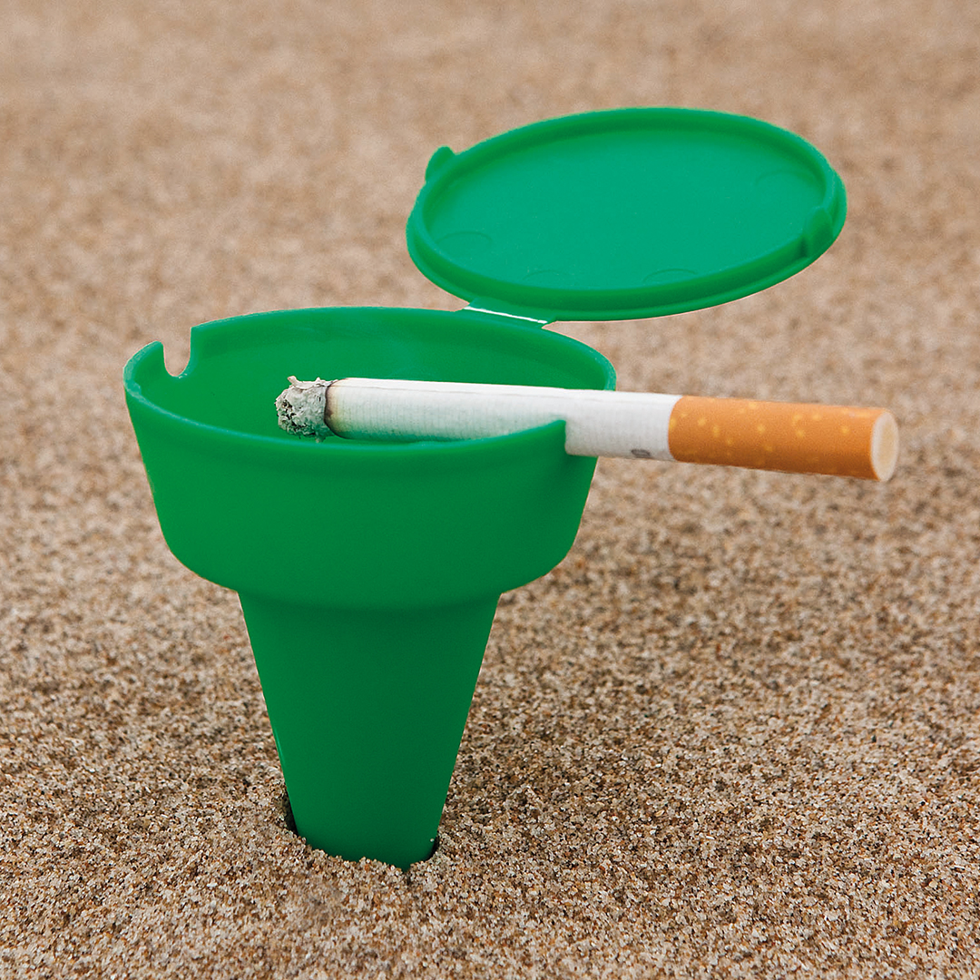 Ashtray for beach